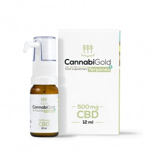 Cannabi Gold Terpenes+ |  Olejek CBD 500mg 12 ml